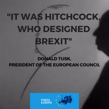 It was Hitchcock who designed Brexit