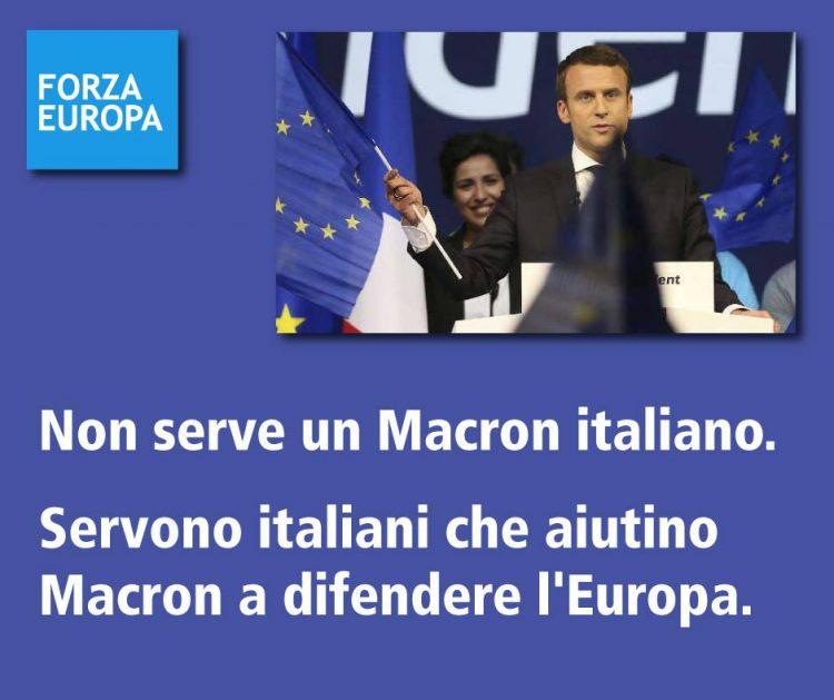 Macron #ForzaEuropa